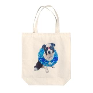 パオちゃん〜夏〜 Tote bags