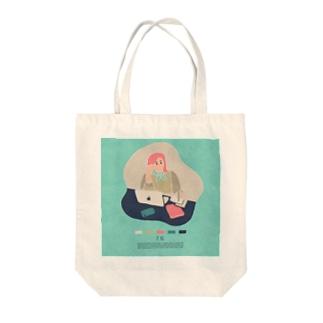【2019.07.15】新井リオの英語日記グッズ Tote bags