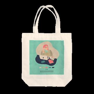 新井リオの【2019.07.15】新井リオの英語日記グッズ Tote bags