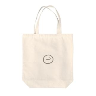 にこにこまる Tote bags