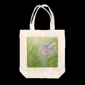 Miwa Kasumiのアクアリウム Tote bags