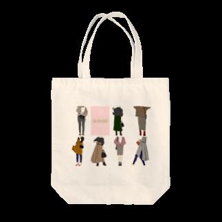 Megumi7のA one week fashion  Tote bags