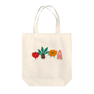 THE GANYUのビーガン Tote bags