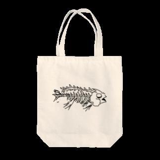 tokeiのfish hone Tote bags