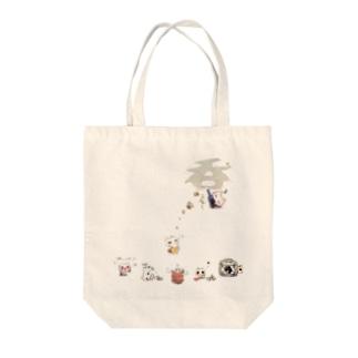 呑ぬこニャトート(A) Tote bags