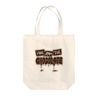 Have room for chocolate Tote bags