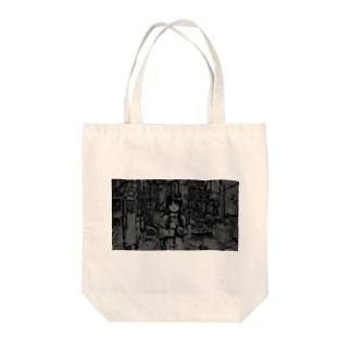 Serial Experiments Rain(Rain-2) Tote bags