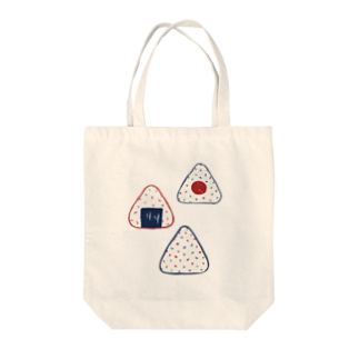 akaneyabushitaの【日本レトロ#07】おにぎり Tote bags