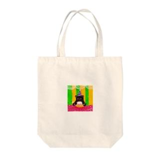 おたんじょうびのくま Tote bags