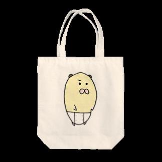 ぺちぺち工房 Pechi Pechi Atelierのハムスターのぴこ Tote bags