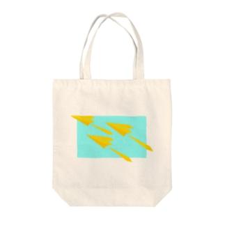 紙ひこうき Tote bags