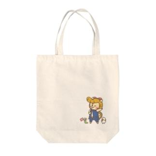 絶滅危惧りしゅ Tote bags
