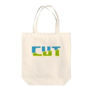 CUT Tote bags