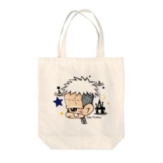 バケフランケン Tote bags
