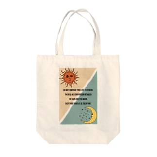 The sun and the moon (bag) Tote bags