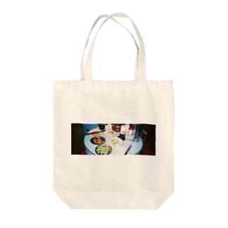 食い散らかし祭り Tote bags