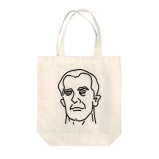プロレス 神様 1 イラスト 偉人アート Tote bags