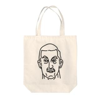 プロレス 神様 2 イラスト 偉人アート Tote bags