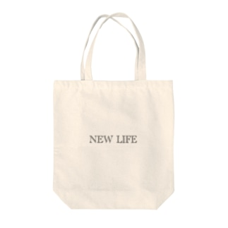 NEW LIFE Tote bags