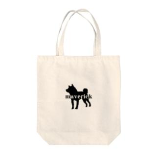 maverick犬 Tote bags