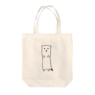 おこじょ Tote bags