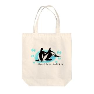 ダンダラカマイルカ Tote bags