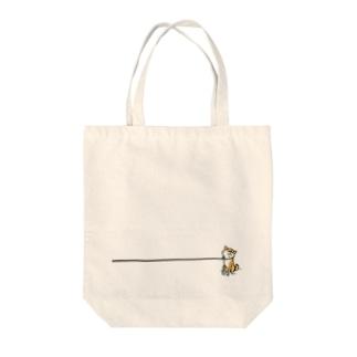 イヤイヤ柴犬(赤柴) Tote bags