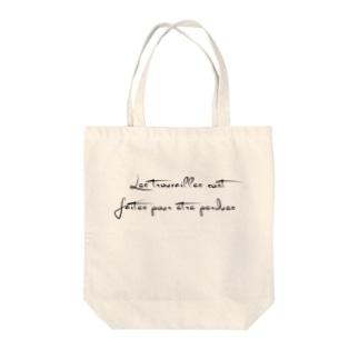 🇫🇷失敗なくして成功はない Tote bags