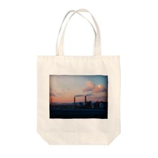 ひろしまから呉へ Tote bags