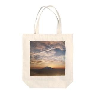 岩木山-みおり写真館 Tote bags