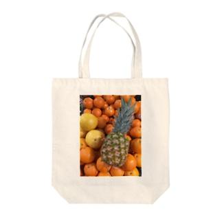 トロピカルフルーツ Tote bags