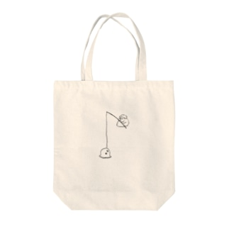 マンボウが釣れる Tote bags