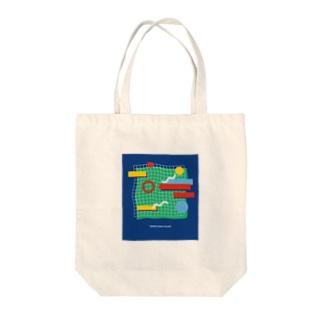 tennis court  Island Tote bags