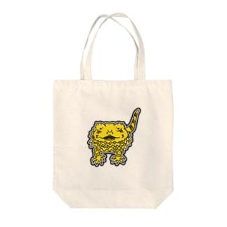 のんびりイラストグッズ Tote bags