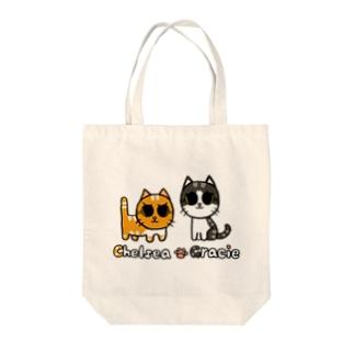 チェルシー&グレイシー Tote bags