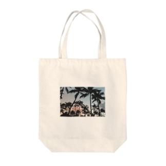 マイアミサンセット Tote bags