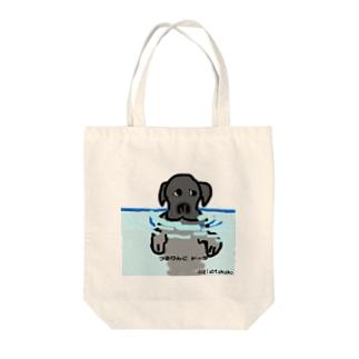 つるりんこドーラ Tote bags