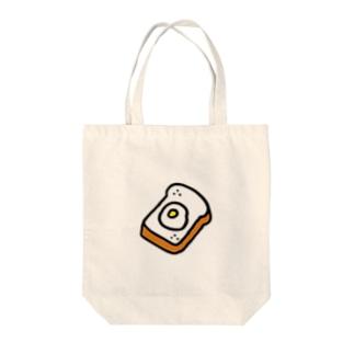 たまごトースト Tote bags
