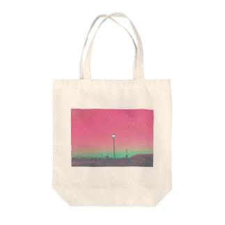 夢と違わぬ Tote bags