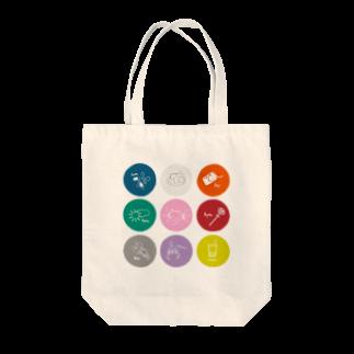 うぃずのすの~まん with a NAME Tote bags