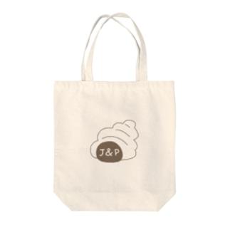 JandPANロゴ(コロネ) Tote bags