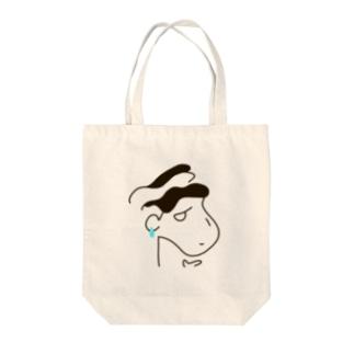 イケてるおにいさん Tote bags
