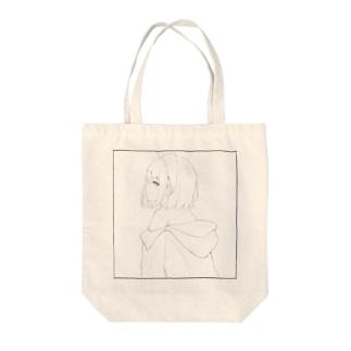 白雪姫(線画) Tote bags