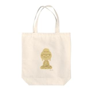 あみだ Tote bags