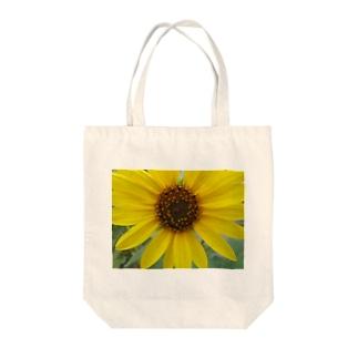 太陽とお友達!! Tote bags