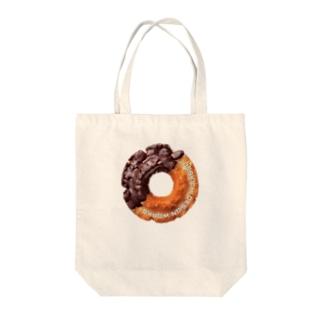ドーナツ Tote bags