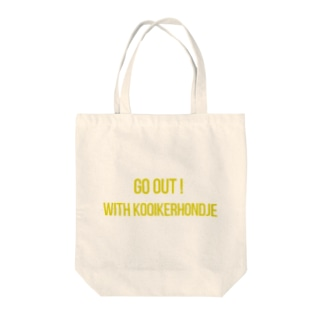 Go out ! Kooikerhondje 1 Tote bags