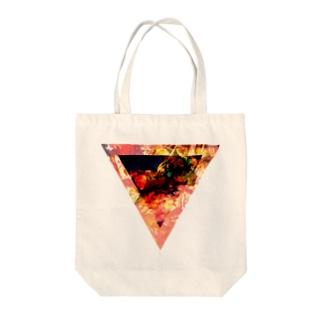 ▼3【逆三角形の穴】 Tote bags