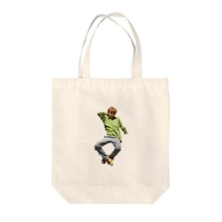 いけいけカッチー Tote bags