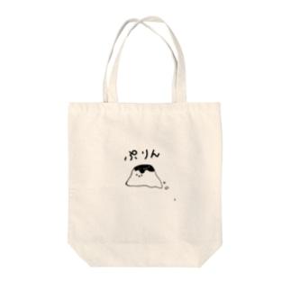 白黒プリンちゃん Tote bags